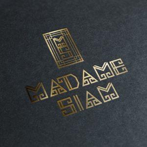 MADAME SIAM logo by Suzaku Productions