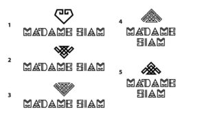 MADAME SIAM logo draft by Suzaku Productions