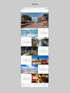 Health Adventure Thailand website Huahin creation by Suzaku Productions