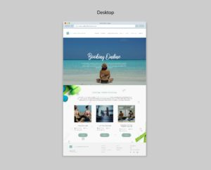 Health Adventure Thailand website Booking creation by Suzaku Productions