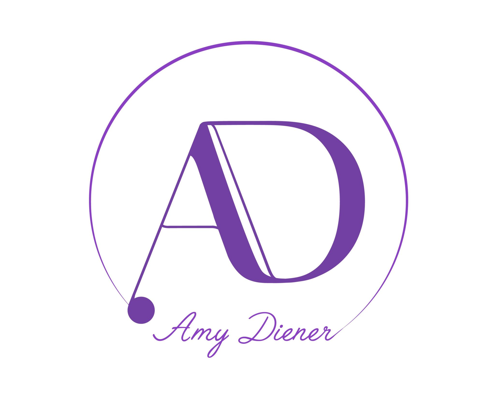 AMY DIENER logo by Suzaku Productions