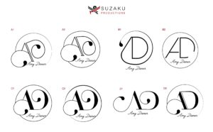 AMY DIENER logo draft by Suzaku Productions