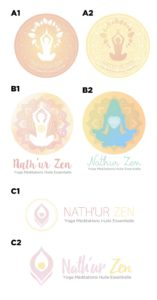 NATHUR ZEN logo draft by Suzaku Productions