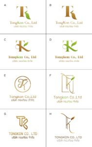 TONGKON logo draft by Suzaku Productions